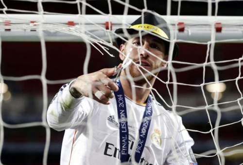 Два гола в ворота Баварии и чудесное, как в конце концов, он получил право на Серхио Рамос взять сеть и чего они хотят.